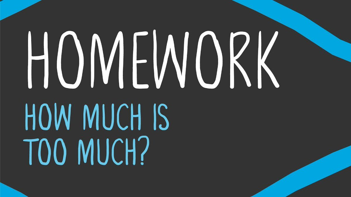 The research is clear: Too much homework is a real risk.