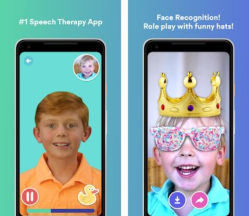Teacher Certified App - Speech Blubs is a powerful app that has been used over 150,000 times to trigger sounds and words in toddlers, late talkers, children with Autism, Down Syndrome, ADHD and SPD. iOS -  https://apple.co/2MgSLor  , Android -  https://apple.co/2MgSLor    @weareblubblub
