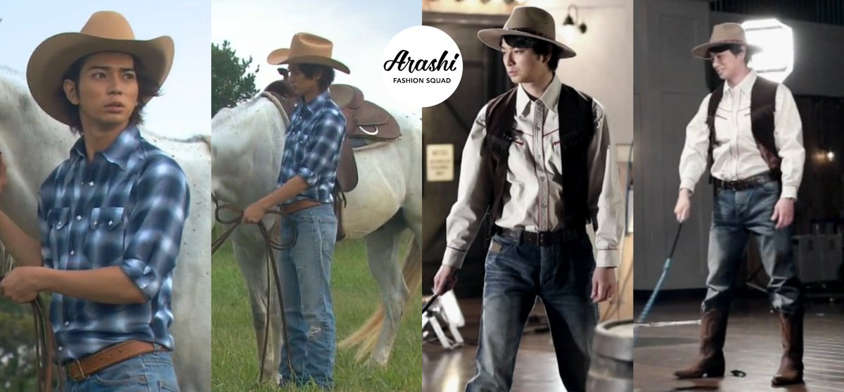 7e5446cc6ee5 What do you think about this  嵐thenandnow  松本潤 rocking a western look from  his Natsuniji in 2011 and his western look just recently on an episode of   嵐 ...