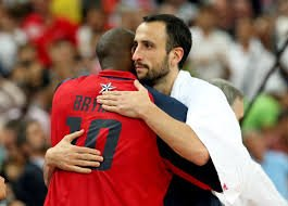.@manuginobili You are true champion my friend and one of the best I have ever matched up with. Enjoy life after the game hermano. You deserve that and more.