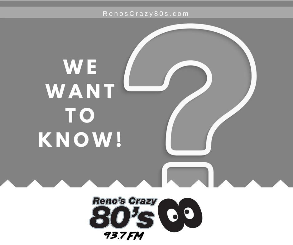Reno's Crazy 80s on Twitter: