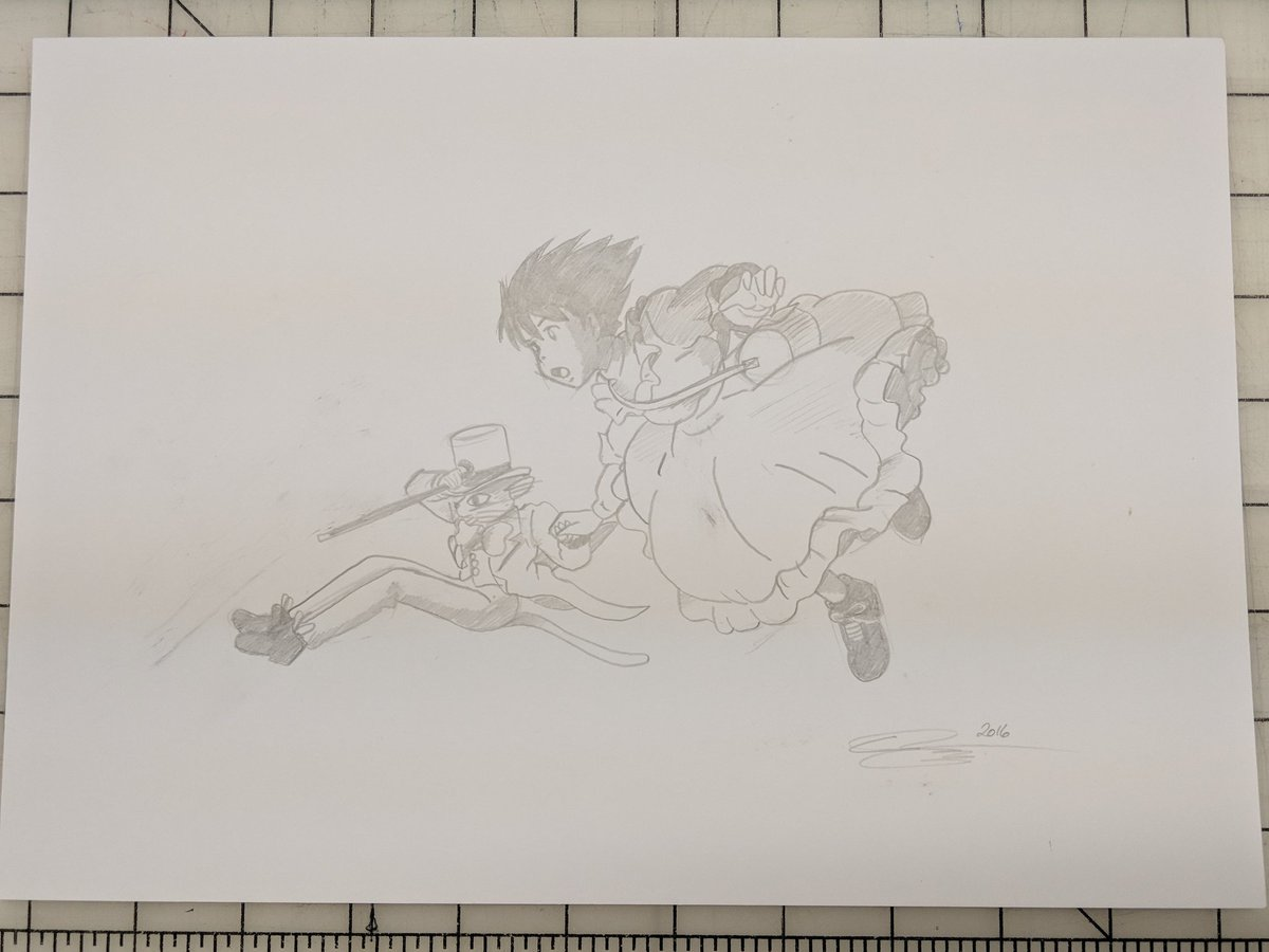 Somehow managed to track down this original Whisper of the Heart concept sketch by @Raid71. The corresponding poster is also on its way to me as well. It&#39;s my most favorite Ghibli movie, and I&#39;m so glad I was able to score this. #studioghibli #whisperoftheheart #classicanime<br>http://pic.twitter.com/cTaX5ZdsX4