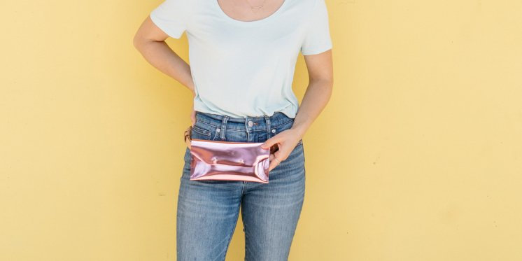 ebbff551c79e We're showing you how to make our chic version of a fanny pack today on the  blog! http://bit.ly/2Lu2RNq pic.twitter.com/SgIoWPp0FF
