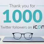 🎉 Thank you for 1000 followers! 🎉 We'll keep working hard to bring you the latest on @helloiconworld ✨ More interviews, more events, more inside looks coming soon 😉