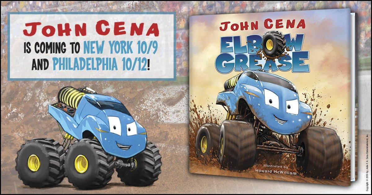 John Cena będzie promować 'Elbow Grease'