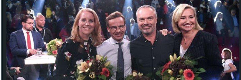 Sa hyllas aftonbladets partiledardebatt