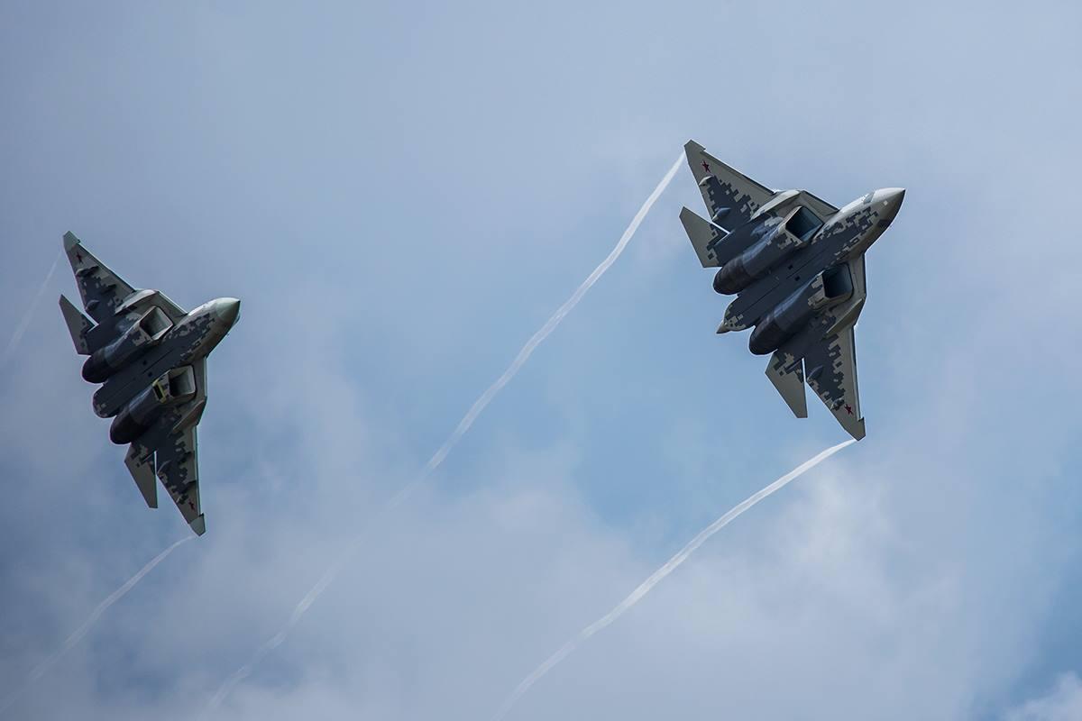 تركيا قد تشتري مقاتلات SU-57 الروسيه اذا ماتم تعليق تسليمها مقاتلات F-35 الامريكيه  Dlr3x4QXgAASdDd