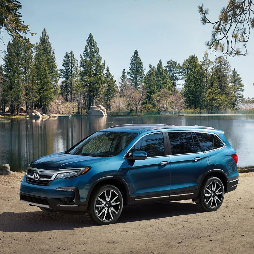 There's plenty of room for all your precious cargo, and any activity you can think of, in the newly redesigned 2019 #HondaPilot. Shop Pilot inventory at our NY, NJ, and CA Honda stores: https://t.co/IJtwPgbsiW https://t.co/Ud24AjqDgb