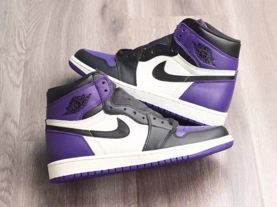Air Jordan 1 Retro High OG Court Purple  a34b18f2d