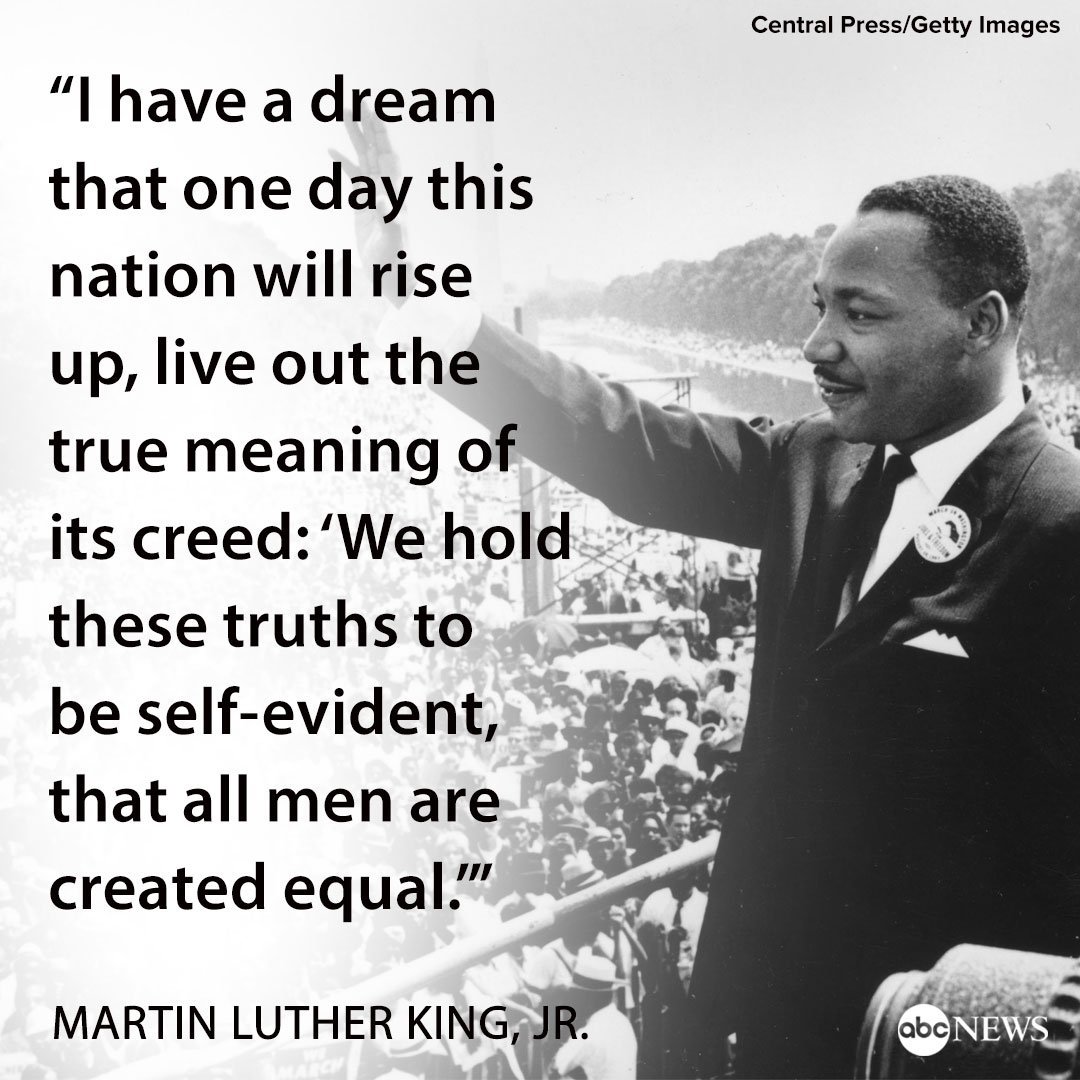 Martin Luther King I Have A Dream Rede