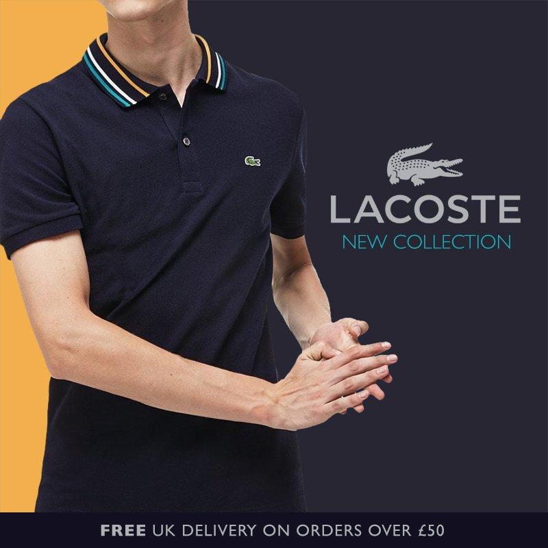 3afa4dce4 View the new styles now - http   www.vaultmenswear.com lacoste-m40  lacoste   lacostemenswear  lacostepolo  lacosteL1212  lacosteclassic  menspolo   poloshirt ...