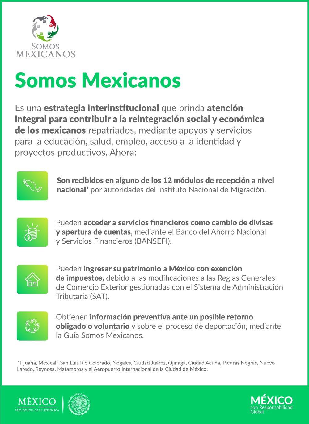Hacienda On Twitter Si Regresas A México La Shcp A