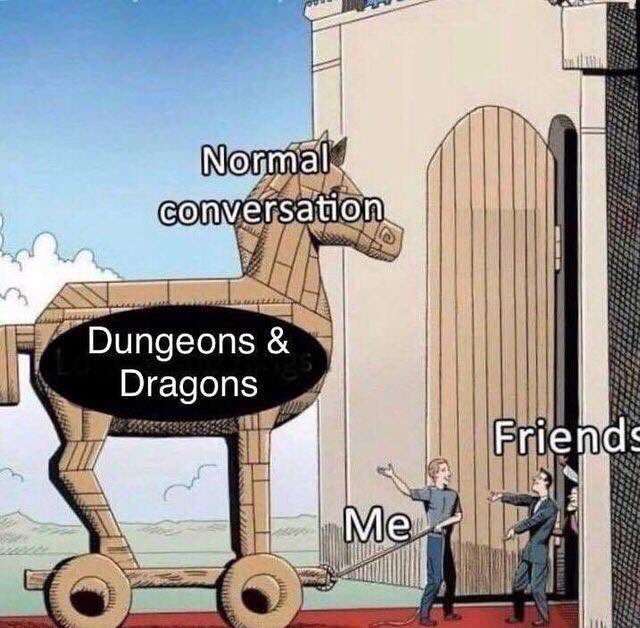 I'm being told this is me. What do you think @MathasGames? #dnd #nerd #RPG