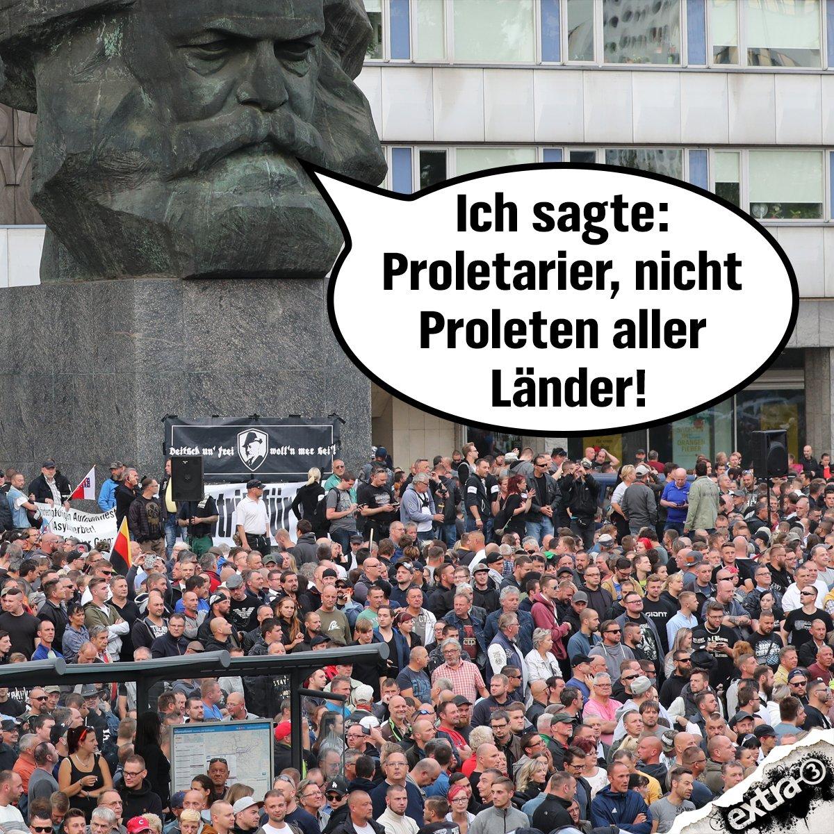 Marx missverstanden. #Chemnitz