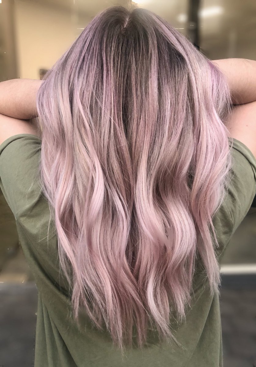 Yotshair On Twitter Colour Transformation Who Doesn T Love A Dusty Pink Balayage By Mia At Our Kingwilliamroad Salon Thanks To Olaplexau