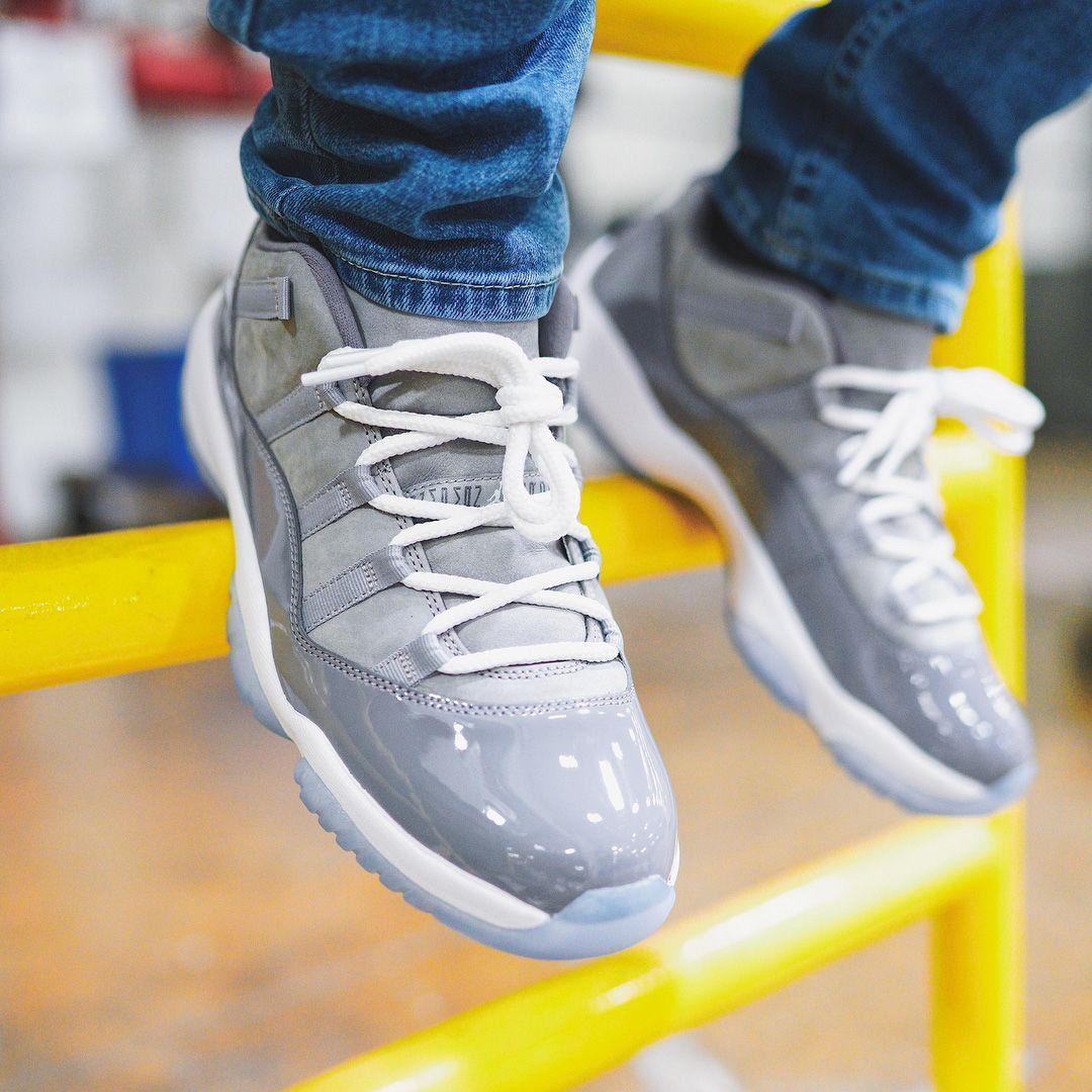 fab8e5b43079  RESTOCK Air Jordan 11 Low  Cool Grey     http   bit.ly 2wr9Cu3  pic.twitter.com 5tnkPMGqTf