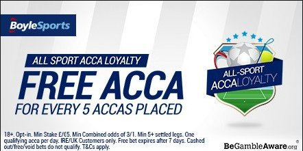 boylesports acca loyalty offer