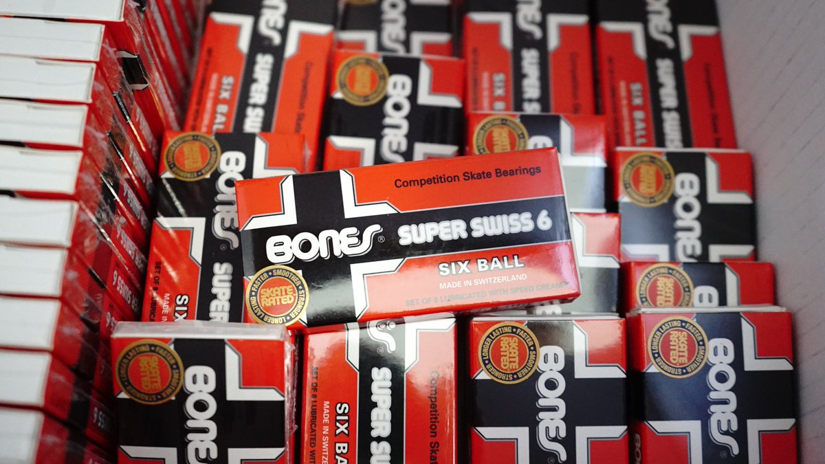 Skate One Corp On Twitter Bones Bearings Super Swiss 6 One Of The Fastest Smoothest And Longest Lasting Skateboard Bearings You Could Ever Gift Yourself Https T Co S3y6jhxkzz