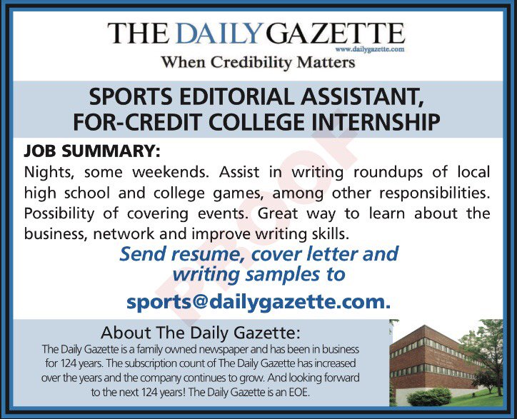 Daily Gazette Sports on Twitter: