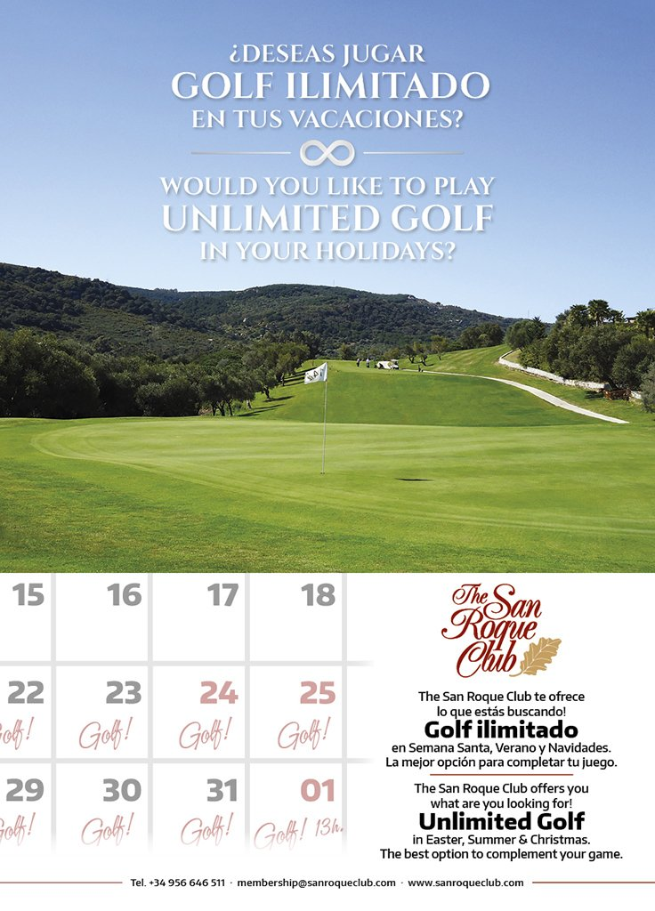 The San Roque Club On Twitter Because Summer Is Not Over Yet Enjoy Unlimited Golf In Your Holidays Contact Us For More Information At Membership Sanroqueclub Com Golf Https T Co Klvyfca7su