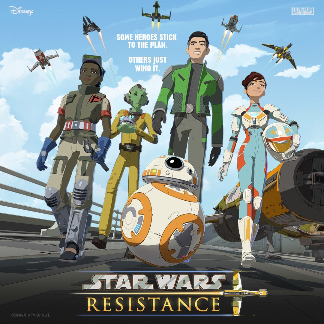 Star Wars: Resistance (New animated series) - Page 3 DlstpUpU0AAIOJR