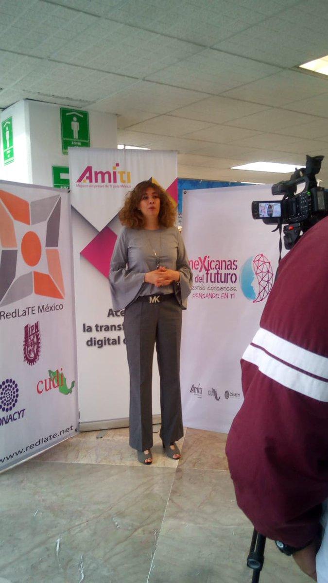 En entrevista @Mariana_PVO Directora General de #Avantare y Líder del Comité de @AMITI_WIT que impulsa las Caravanas #MexicanasFuturo a favor de la educación en México de las Mujeres en Tecnologías de la Información  #TI #Mujeres #Educación #Empresa @CIC_IPN_OFICIAL @Red_LaTE_Mx
