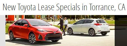 Special Lease and Finance Offers Now Through 9/4/18 at DCH Toyota of Torrance. Hurry In, Now is the Time to Save! https://t.co/Iti3rYbYnz https://t.co/AgQhYVQ1l4