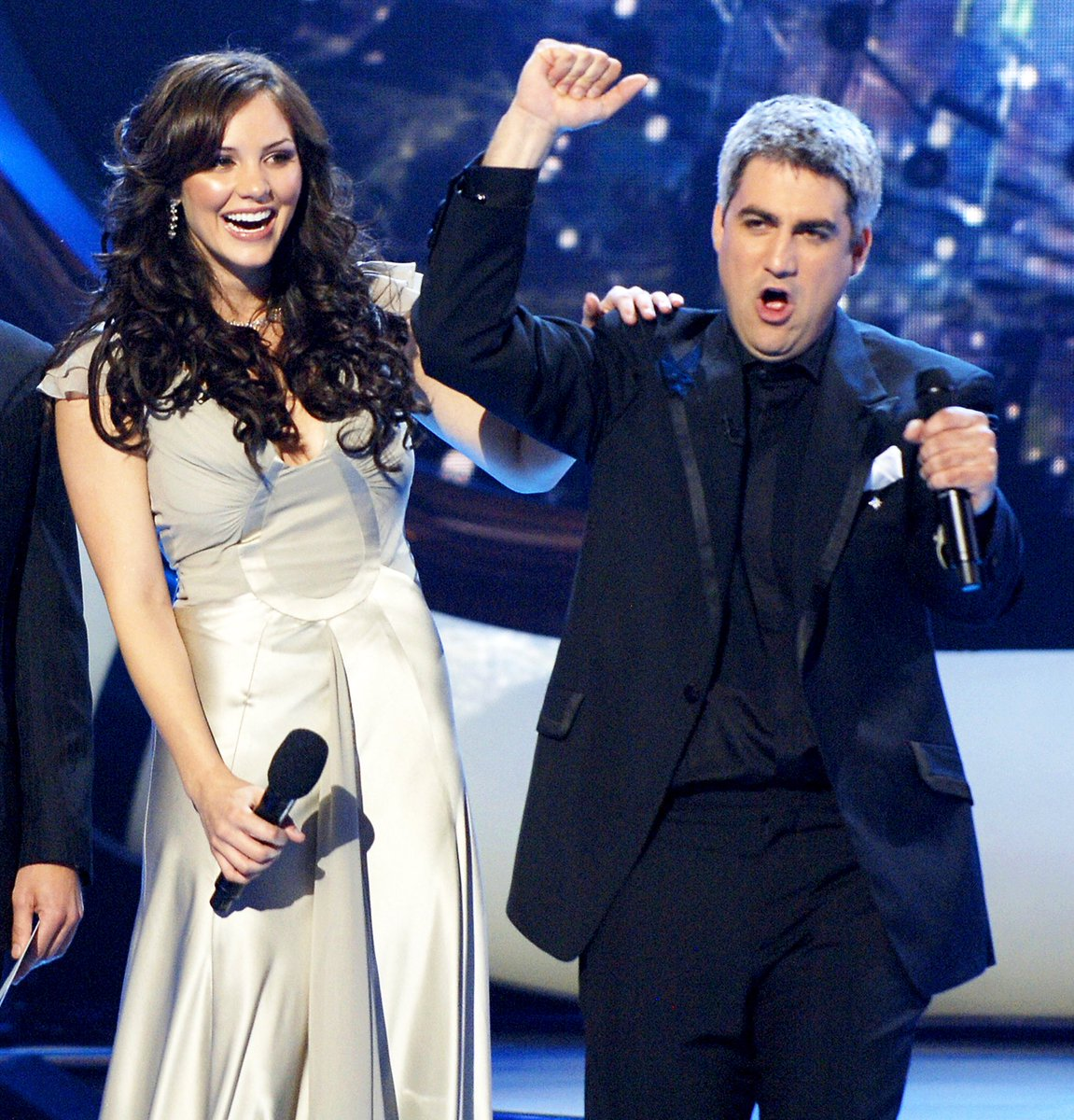 Katharine McPhee Just Low-Key Shaded Taylor Hicks And, Holy 2006, It Was Funny