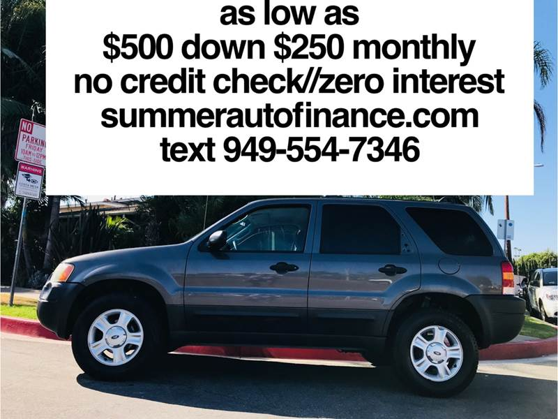 Summer Auto Finance >> Summer Auto Finance On Twitter 2003 Ford Escape Xlt