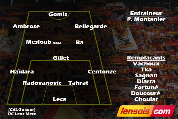 [Coupe de la Ligue - 2nd Tour] RC Lens - FC Metz DltHYFwWsAAkcwW