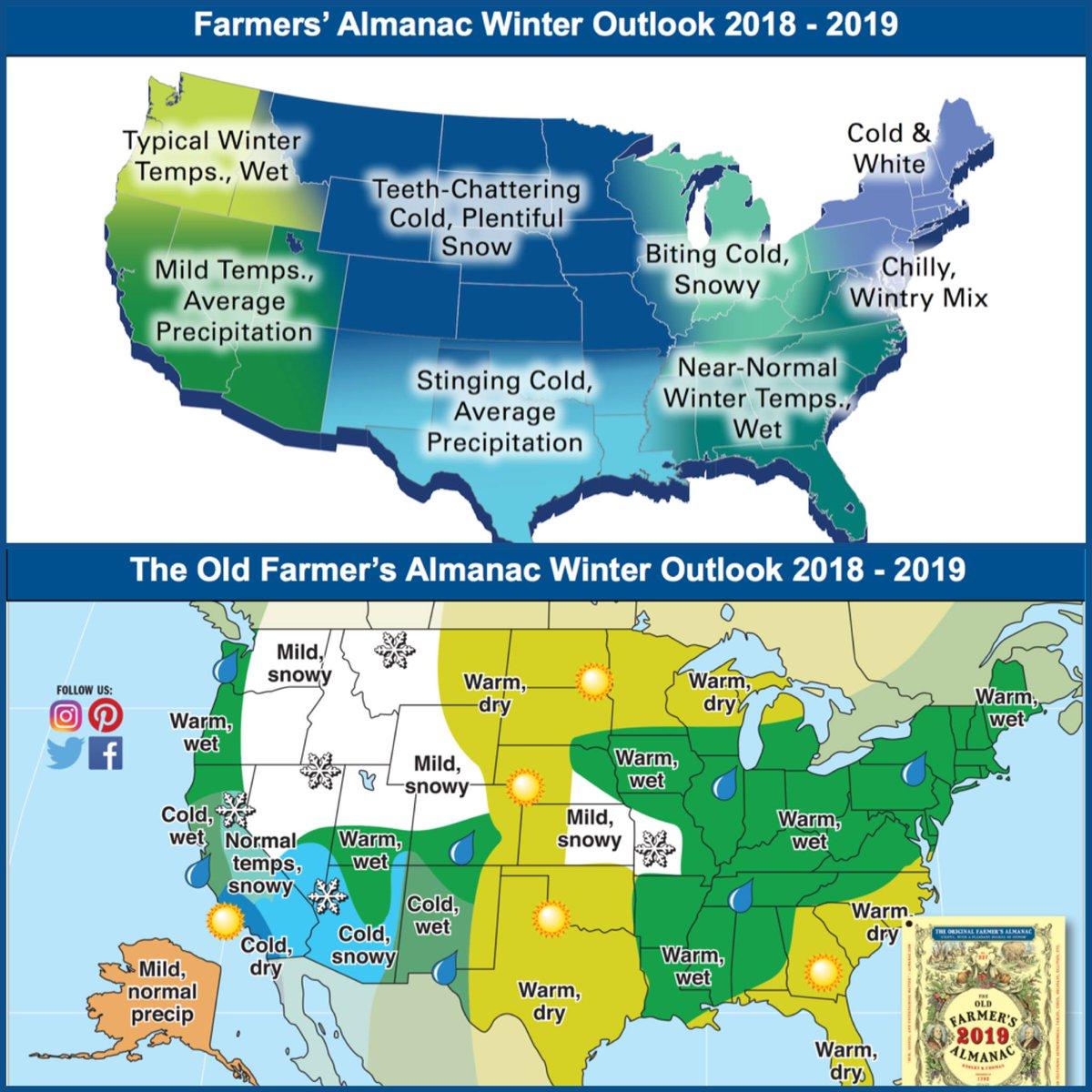 Madison : Farmer's almanac 2018