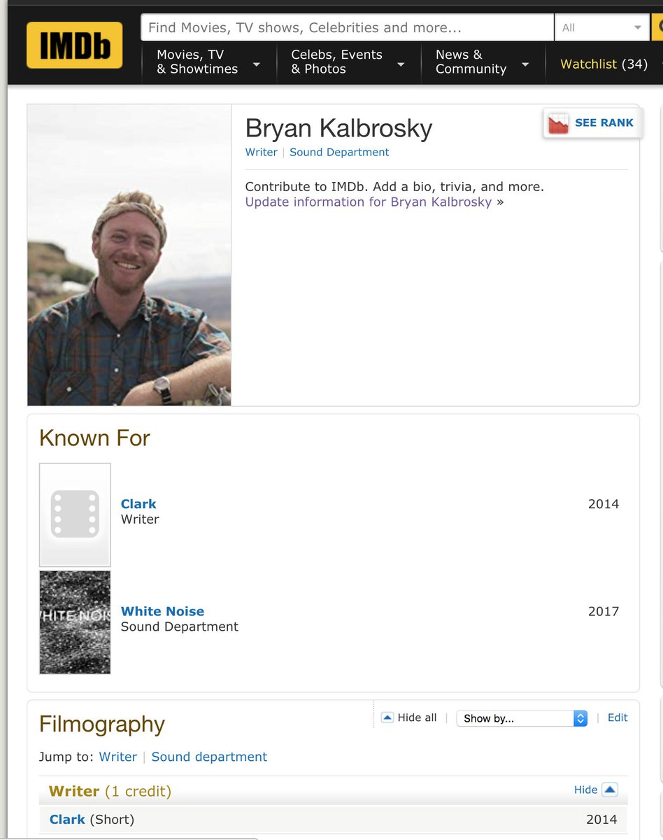 Bryan kalbrosky on twitter i just learned that i have an imdb bryan kalbrosky on twitter i just learned that i have an imdb profile i am now willing to accept an invitation to a red carpet httpstwt40iytqyc stopboris Gallery