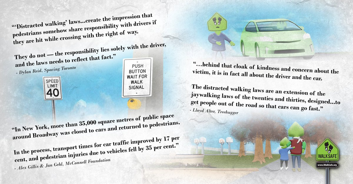 Walksafe On Twitter Three Important Quotes About Pedestrian Safety