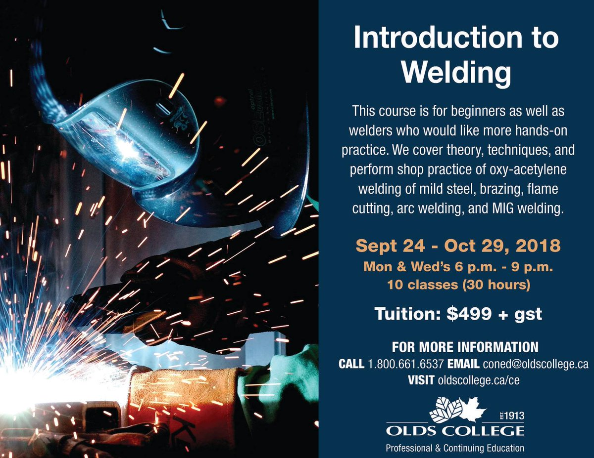 an introduction to welding Wldg 1428: introduction to shielded metal arc welding an introduction to the shielded metal arc welding process an introduction to the shielded metal arc welding process emphasis placed on power sources, electrode selection, oxy-fuel cutting, and various joint designs.