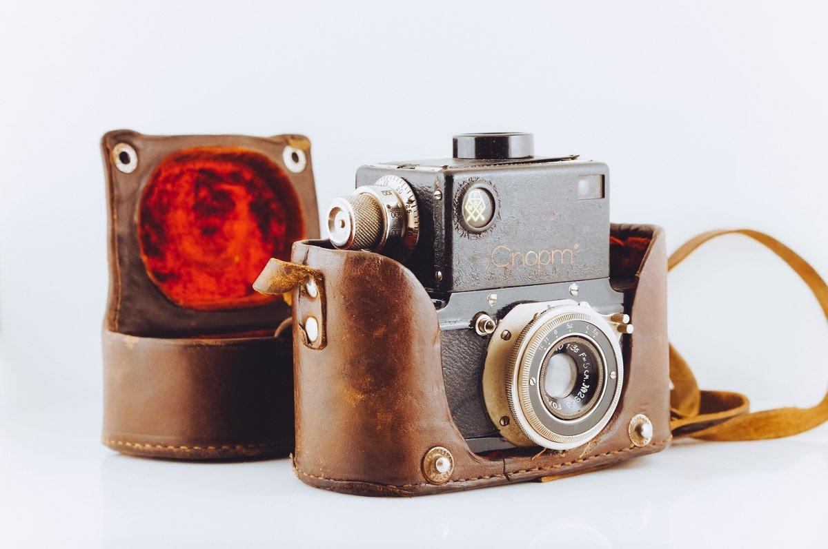 Самые первые фотоаппараты