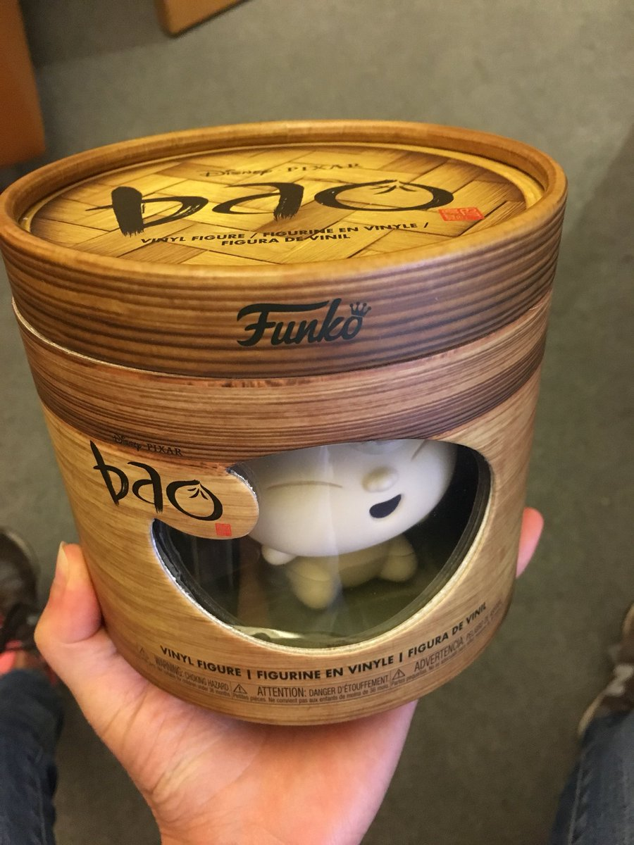 Check out this incredible Funko final figure from our short Bao! I want to eat it. https://t.co/xLbYJhlB2E