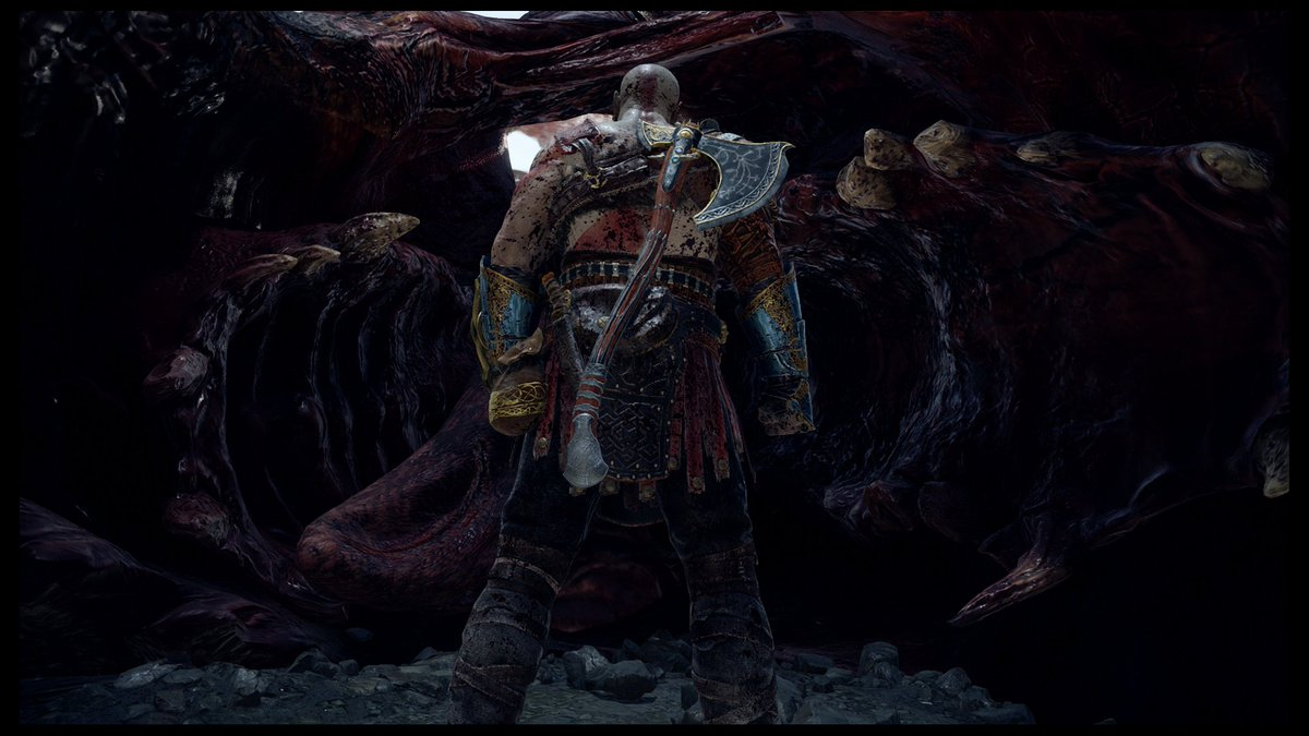 Describe God of War in one picture... Here you go. #GodofWar #GodofWar #PS4share