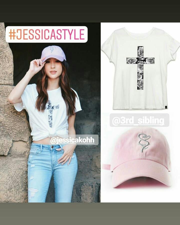 Jessicakoh style  Beautiful model @jessicakohh 💖 Shirt and  rose cap from @3rd_sibling 🌹🌹🌹 . . #3rdsibling #rosecap #roselogo  #jkoh #jessicakoh  #blogger  #jessica_story #jessicakoh #jessicakohstyle #jessicastyle #fashion https://t.co/WyFNk0XF28