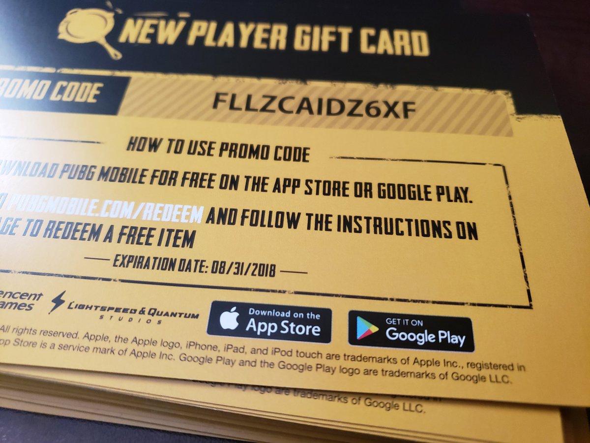 Pubg promo codes free
