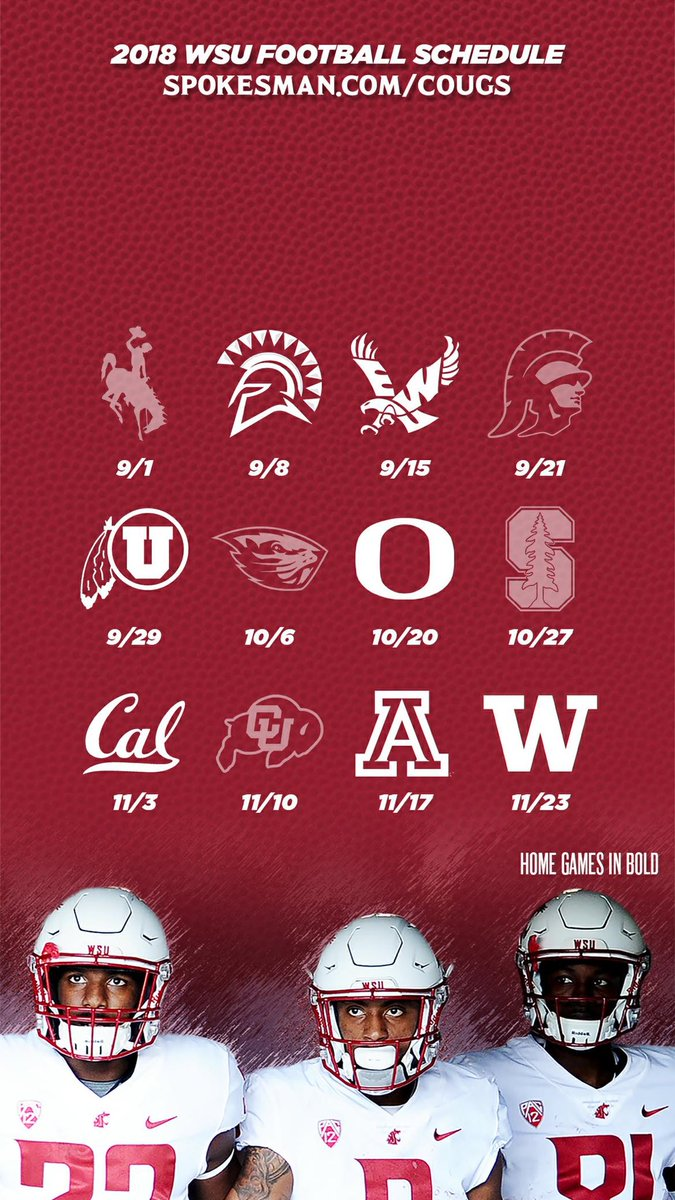 Theo Lawson On Twitter A Neat Addition To Our Website Schedule Wallpapers For The Local Cfb Teams Here S The Wsu One Featuring James Williams Jamire Calvin And Renard Bell Https T Co Sxtoebwxim