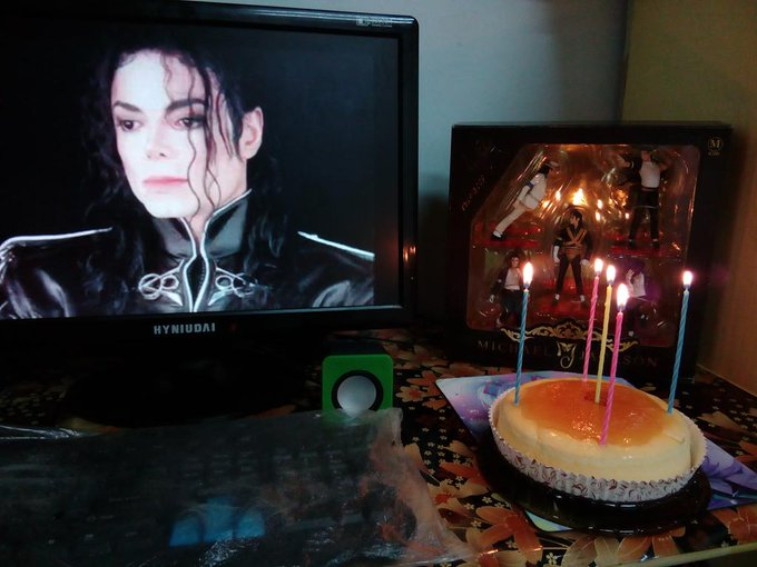 happy Birthday Michael Jackson  We miss you very much
