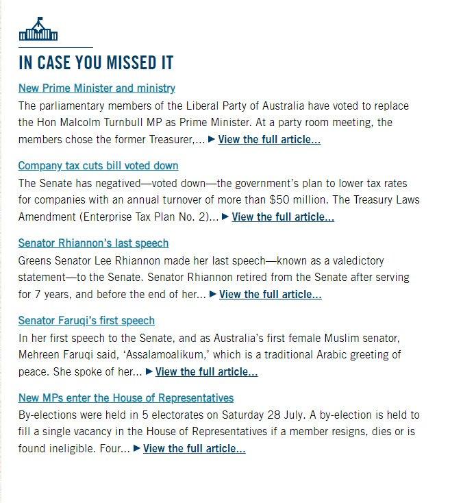 Australian Senate on Twitter: