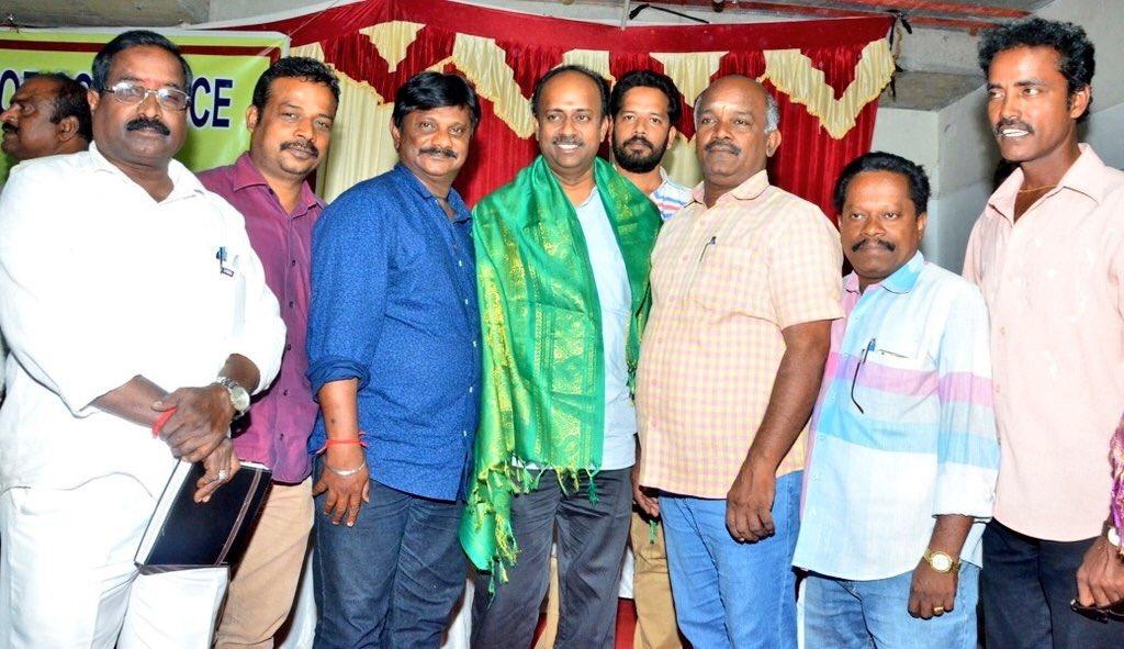Mersal producer Murali Ramasamy at SIFCC
