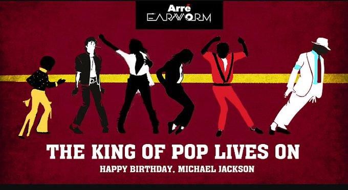 Happy bday king of pop jackson