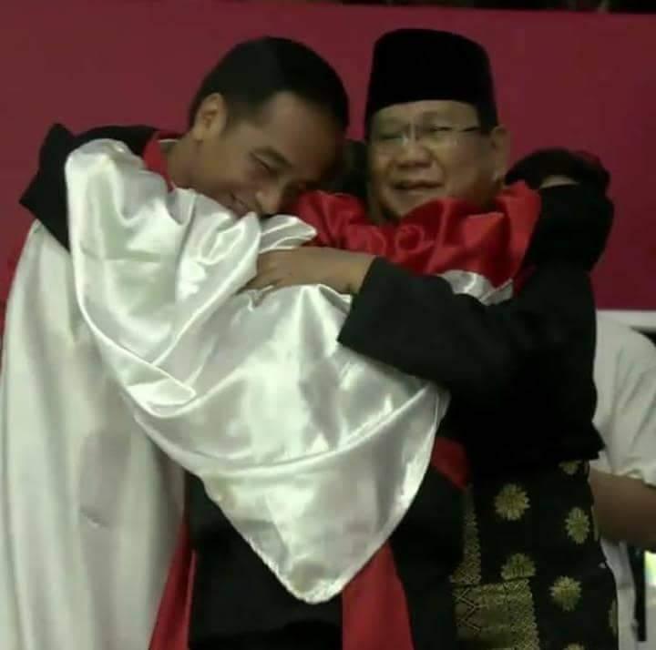 Hanifan 'menyatukan' Jokowi dan Prabowo