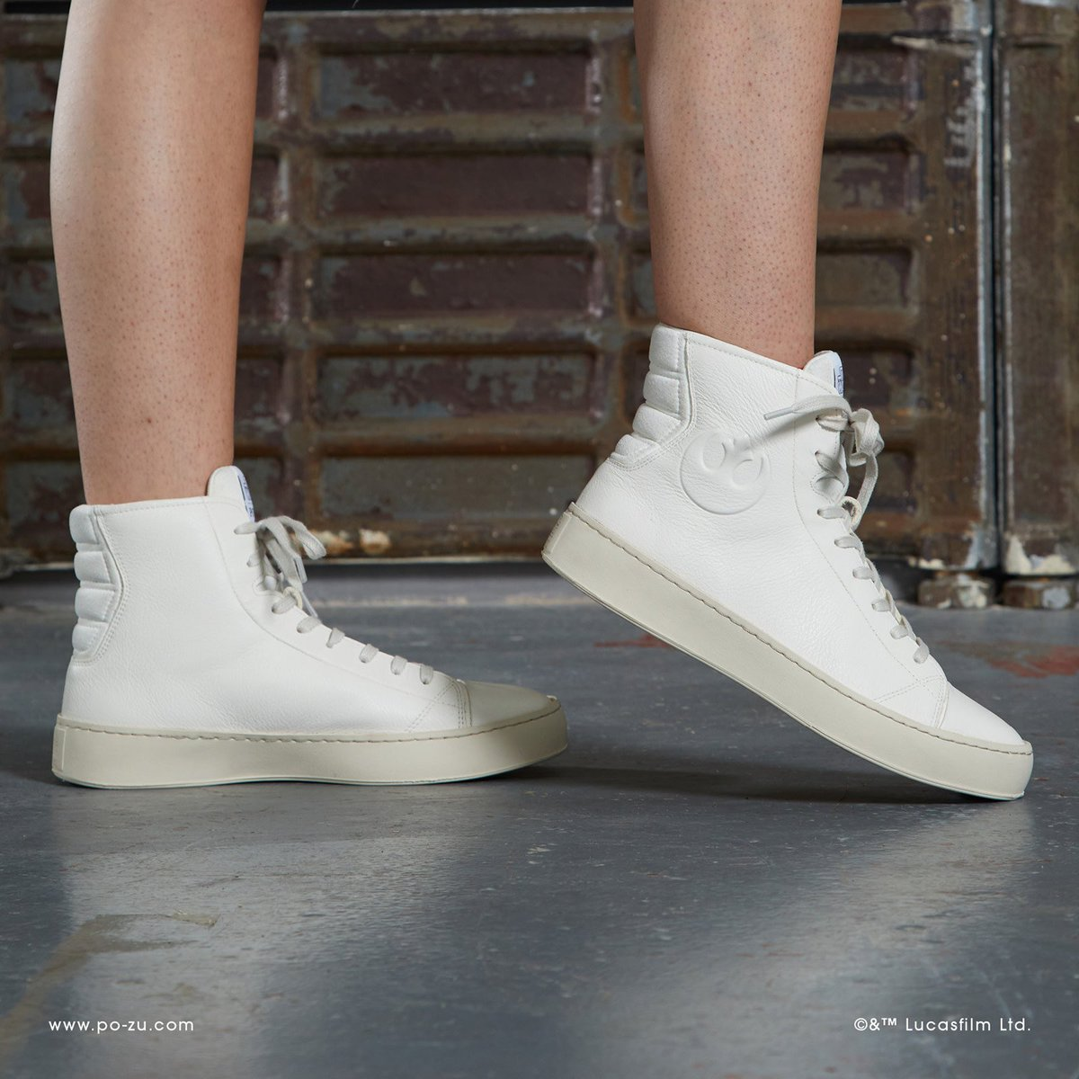 94fd986694 Feel the force with Star Wars™ x Po-zu s latest luxury leather RESISTANCE  sneaker for men and women. £145 (approx US  192) at http   www.