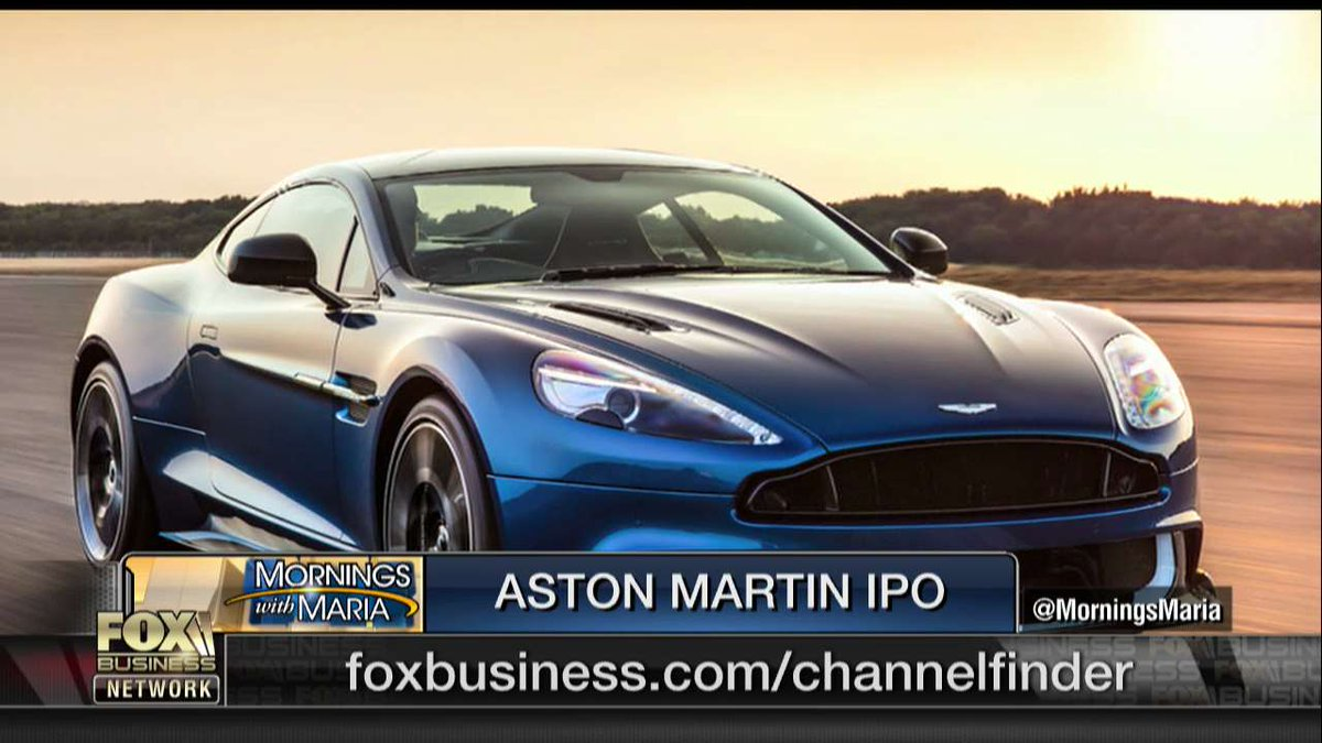 Fox Business On Twitter Aston Martin Announces Ipo Plans Https T