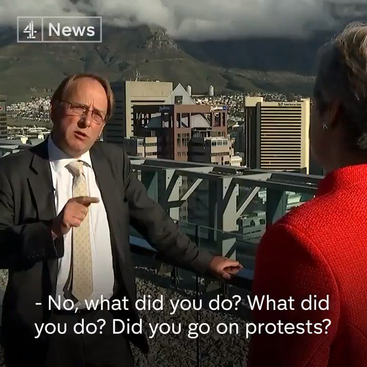 If only the BBC could interview May like this.