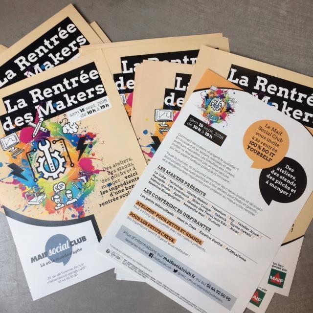 La Rentre Des Makers Cest Ateliers Confrences Trs Inspirantes Rejoignez Nous