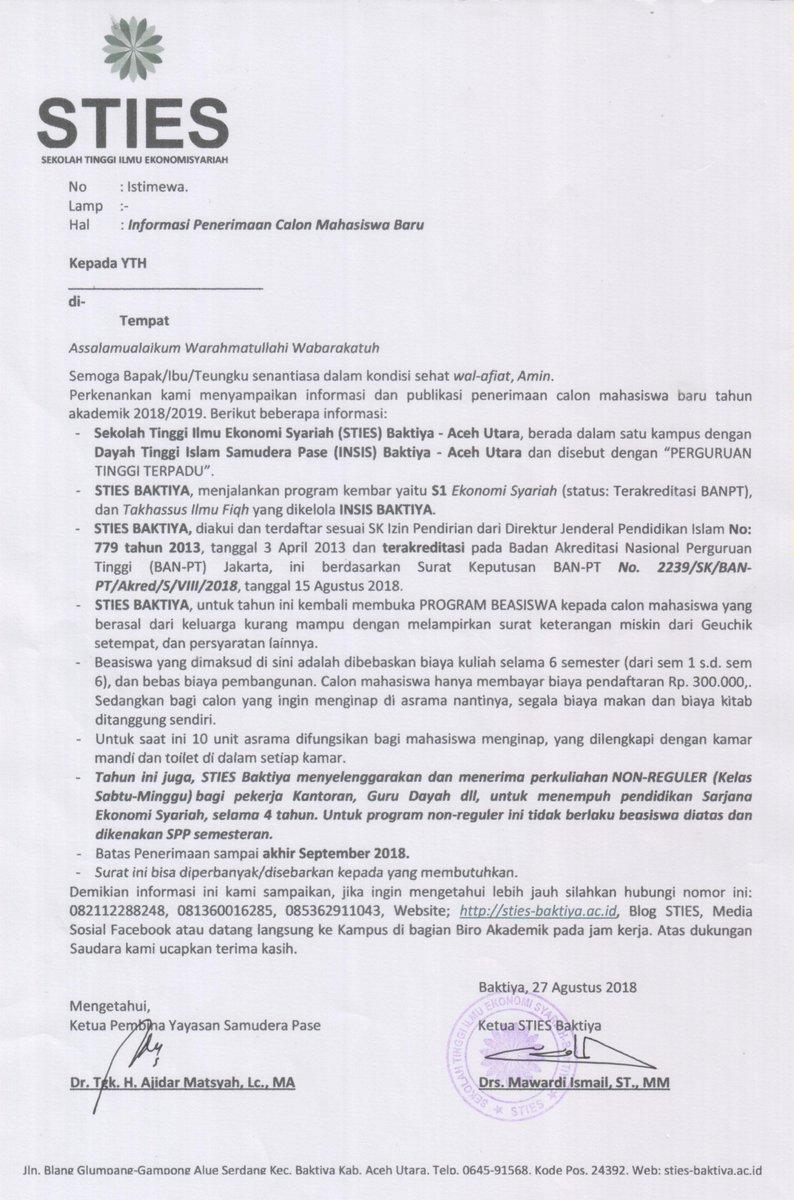 Sties Baktiya Aceh Utara Sties Baktiya Twitter